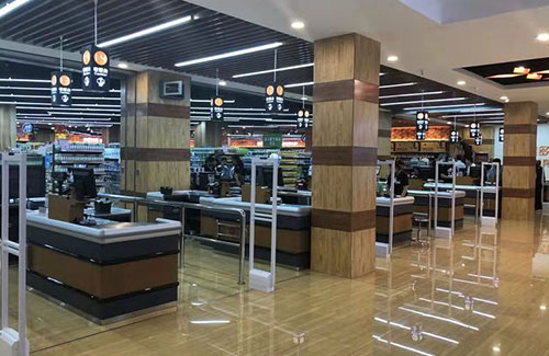 China Supermarket Installed Emeno EAS Anti-theft Systems